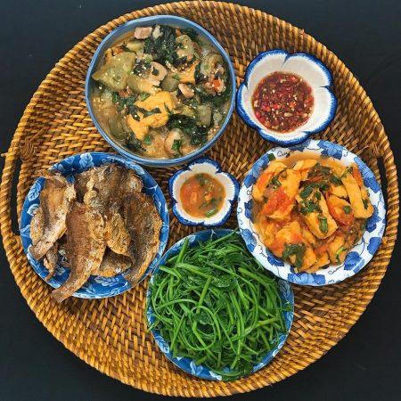 món ăn ngon mỗi ngày santorino coffee & veggies