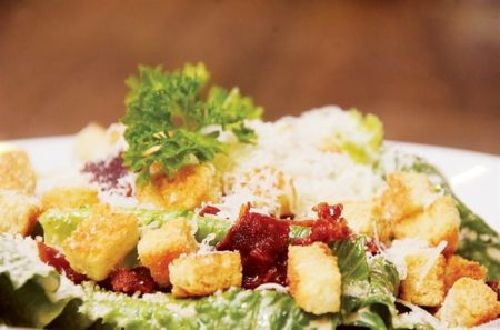 Caesar salad Santorino Coffee & Veggies