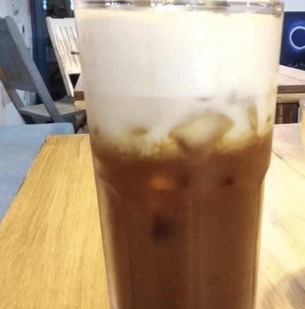 Coffee macchiato nóng/đá - Coffee macchiato hot/iced
