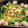 Mango Spring-Roll Salad – Vegan