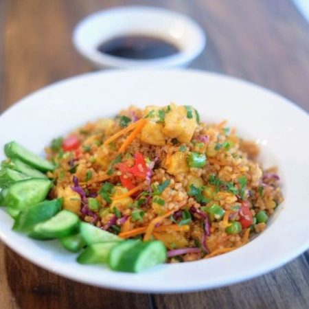 Vegetable Fried Rice – Vegan