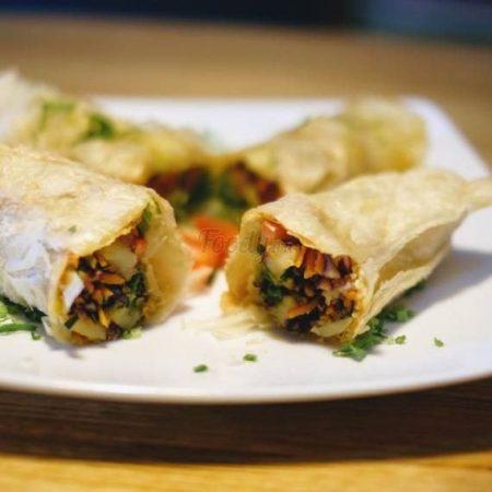 Veggies Roti Rolls (Vegan)