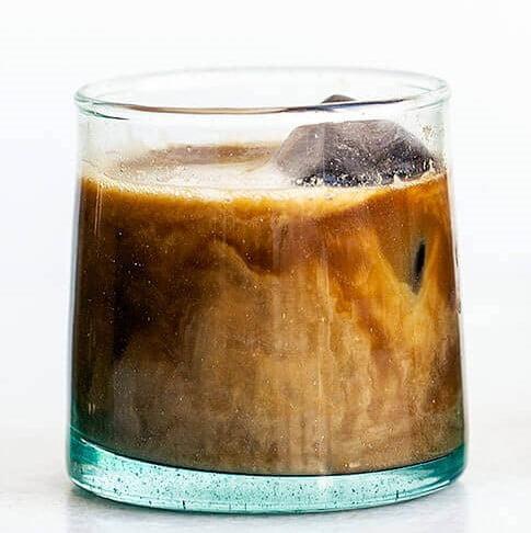 Vietnamese milk coffee by Santorino