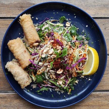 Vegetarian meal plan in Ho chi minh Bí ngòi zucchini