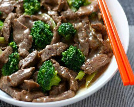 Công thức bông cải xào thịt bò - Santorino Coffee & Veggies
