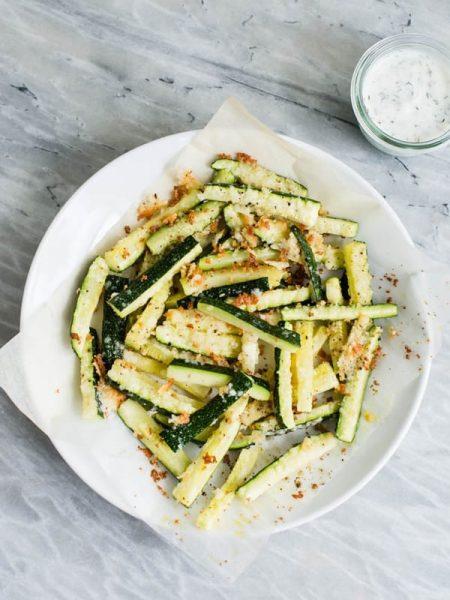 Món bí ngòinướng với phô mai Parmesan Santorino Coffee & Veggies