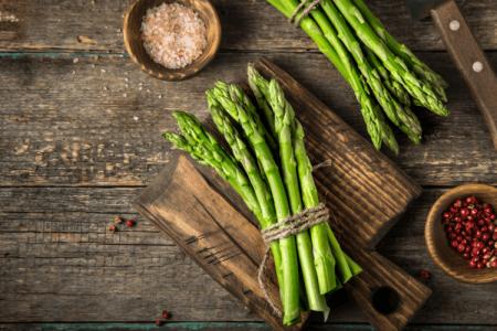 Măng tây xanh cải thiện tiêu hóa - Santorino Coffee & Veggies