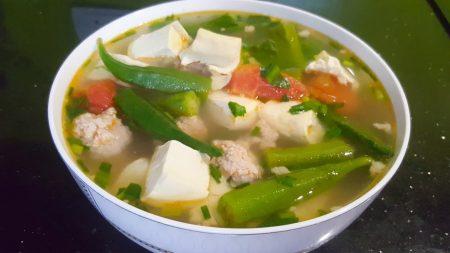 Cà chua đậu bắp santorino coffee & veggies