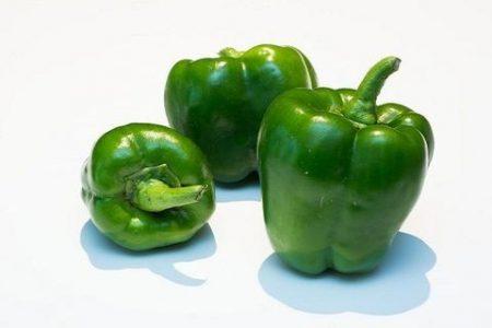 Thành phần dinh dưỡng ớt chuông xanh Santorino Coffee & Veggies