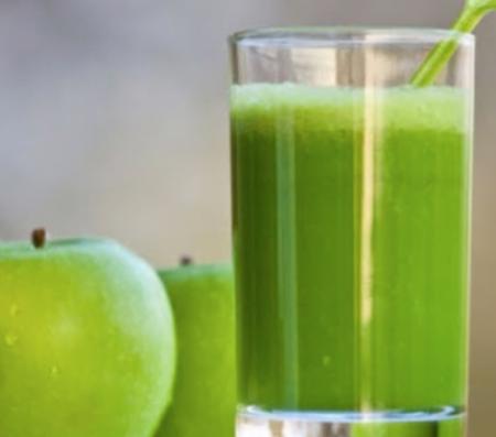 Lợi ích của táo xanh nước ép táo - bưởi