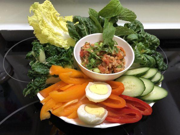 Những món ăn vegan dễ nấu santorino coffee & veggies