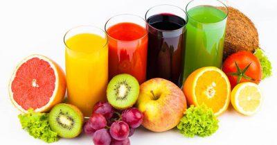 nước ép trái cây santorino
