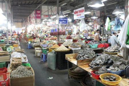 chợ nông sản santorino