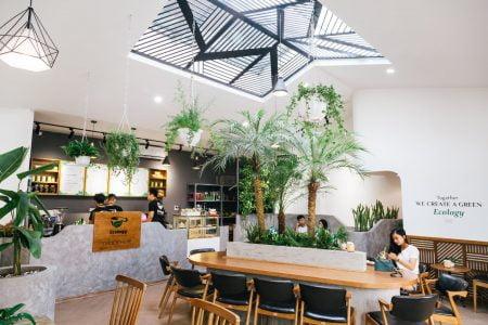quán cà phê santorino