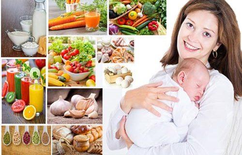 Chế độ ăn giảm cân cho bà mẹ sau sinh cần những gì?