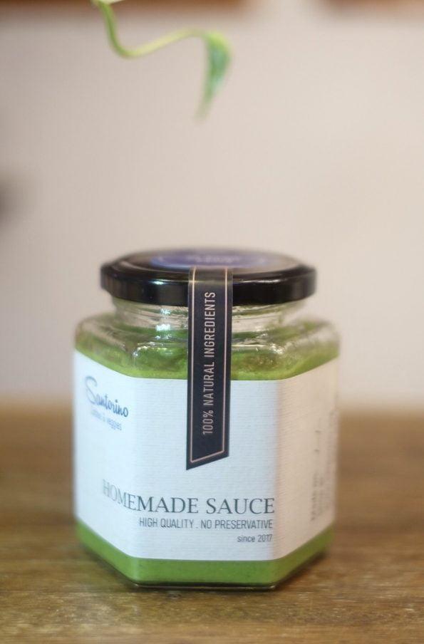Homemade pesto sauce 375ml