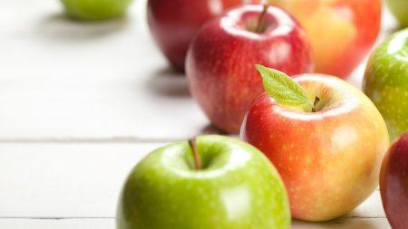Táo xanh và táo đỏ