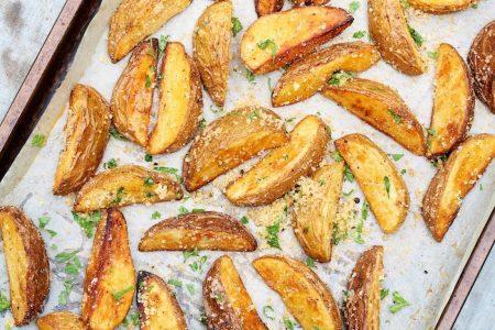 Santorino Parmesan potato wedge