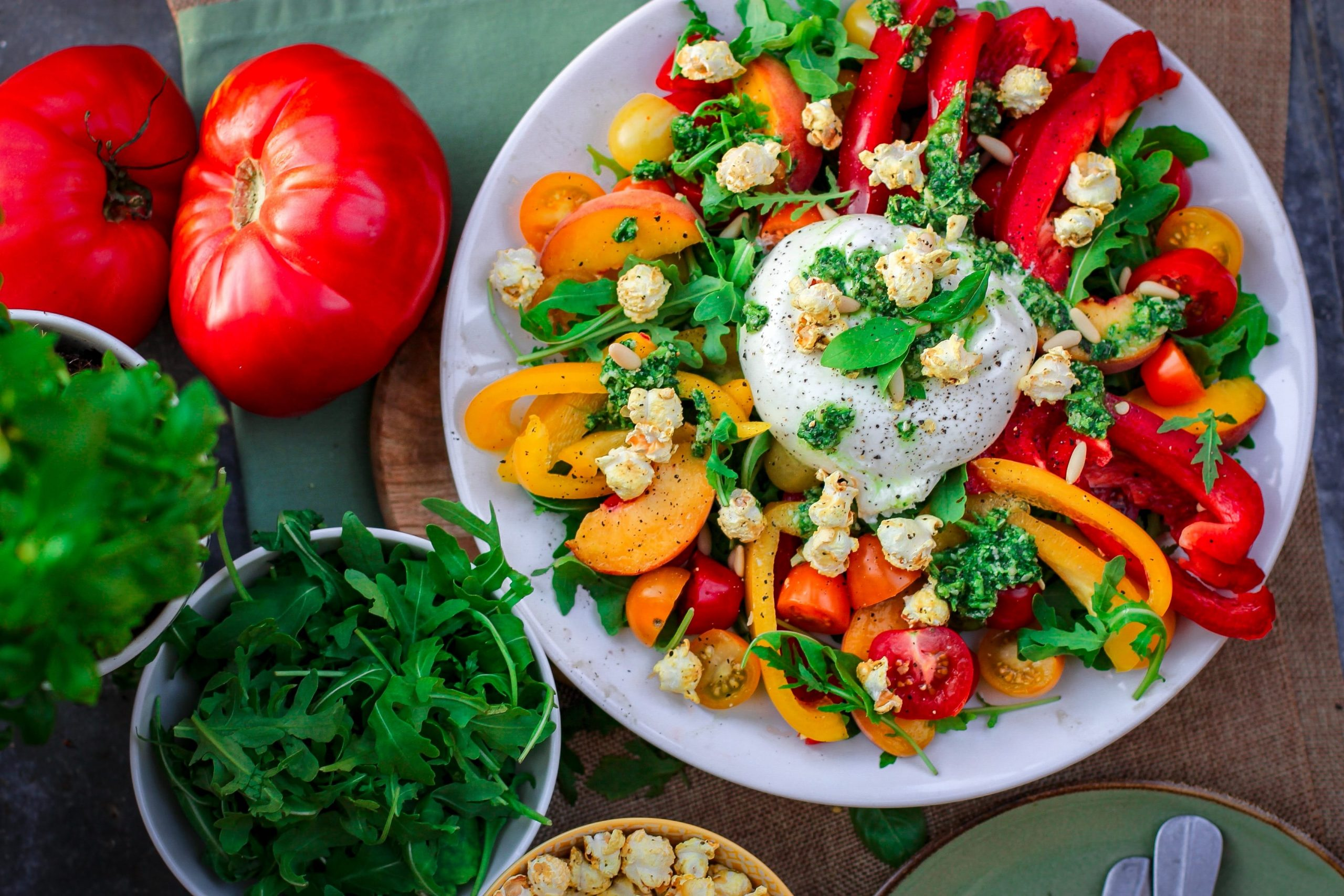 làm salad ngon -santorino.org