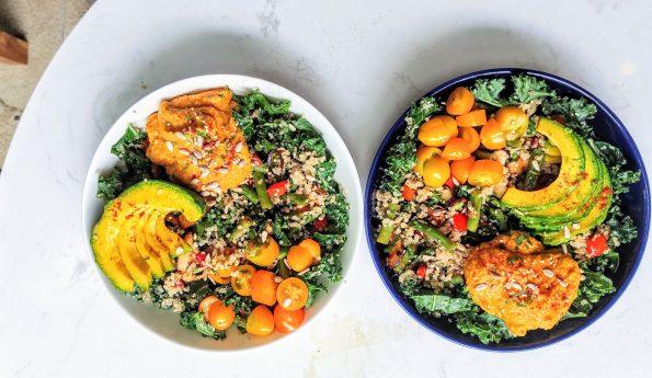 Hummus salad bowl Snas 1 by Santorino