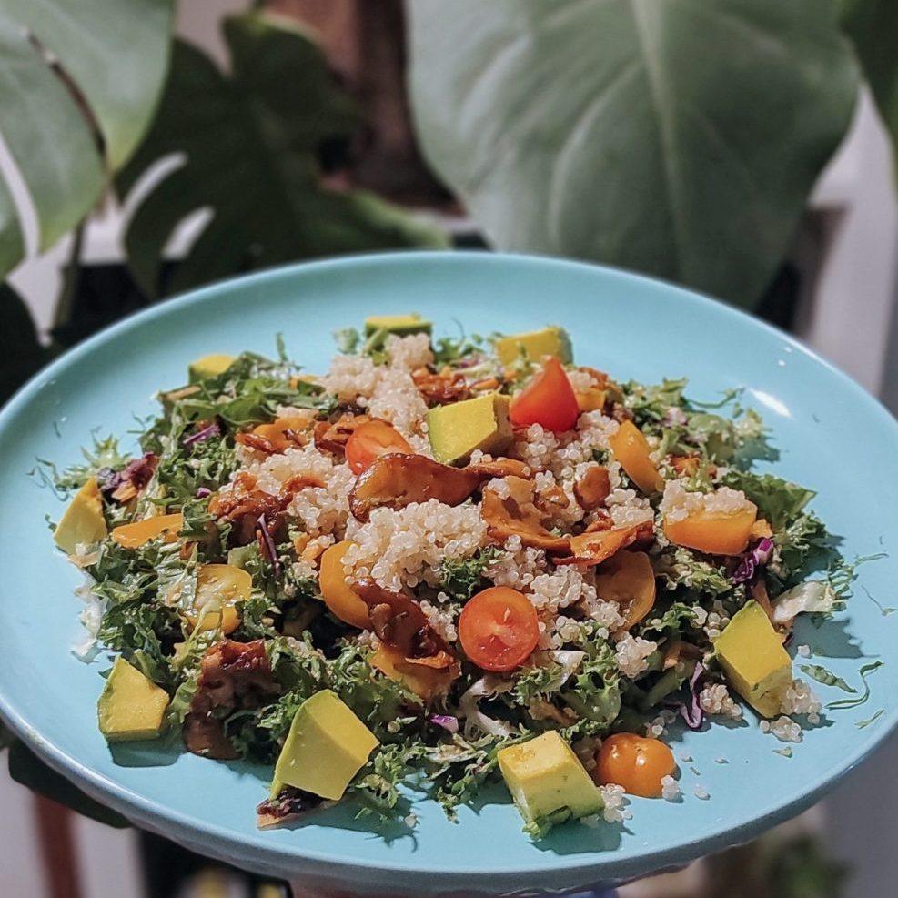 SNAS 1 The rainforest bowl – Salad rừng nhiệt đới by santorino201105_074706