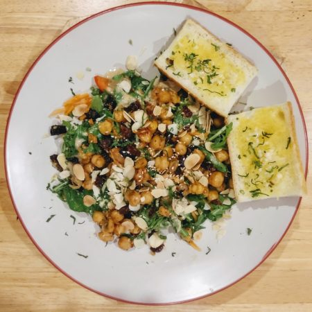 chick and cheese SNAS 4 healthy chickpea salad