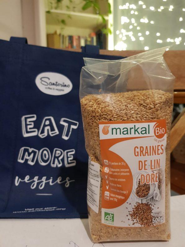 Hạt lanh vàng hữu cơ organic 500gram