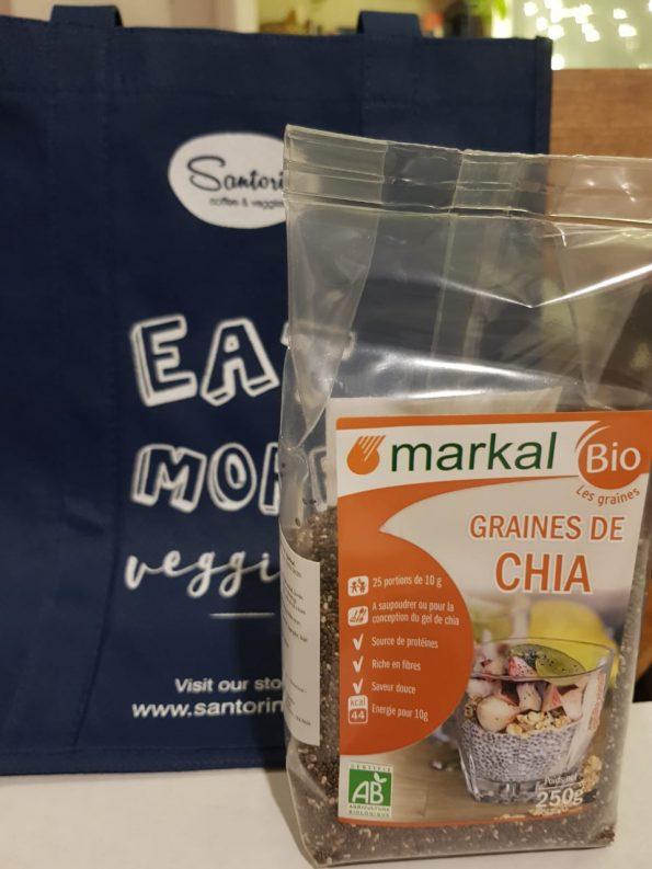 Hạt CHIA hữu cơ Markal 250g