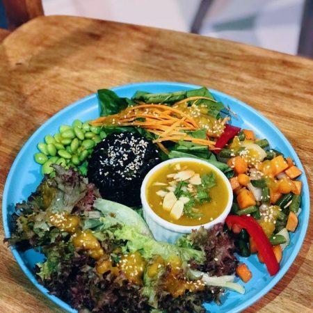 SNAS 6 Rossa & pumpkin salad bowl