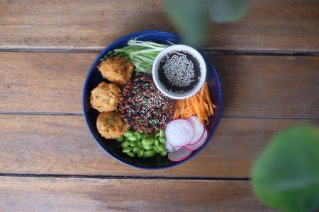 Vegan bowl no.2 - Sushi salad by Santorino hcmc