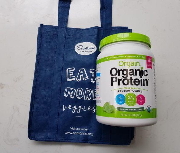 Bột orgain organic protein