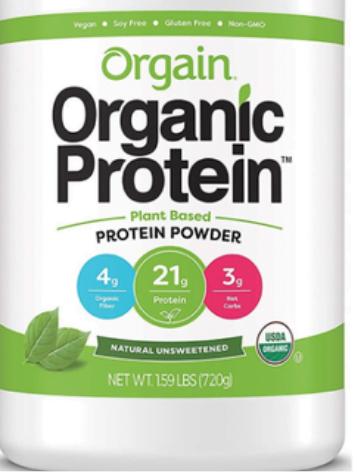 protein plant based powder