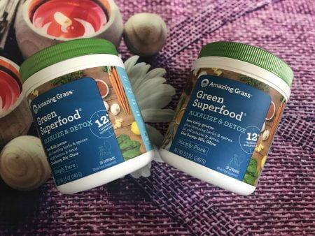 bột thực vật Superfood Detox & Digest - santorino