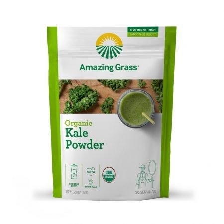 Bột cải xoăn hữu cơ Amazing Grass santorino