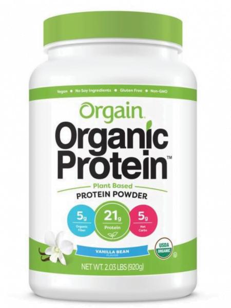 Bột protein thực vật hữu cơ dòng thể thao - santorino