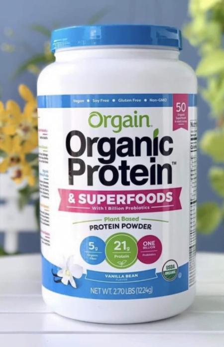 orgain organic powder superfoods