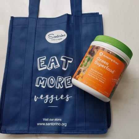 Bột siêu thực phẩm xanh tăng cường hệ miễn dịch Amazing Grass Immunity - vị quýt - Hũ 240gr (30 lần)