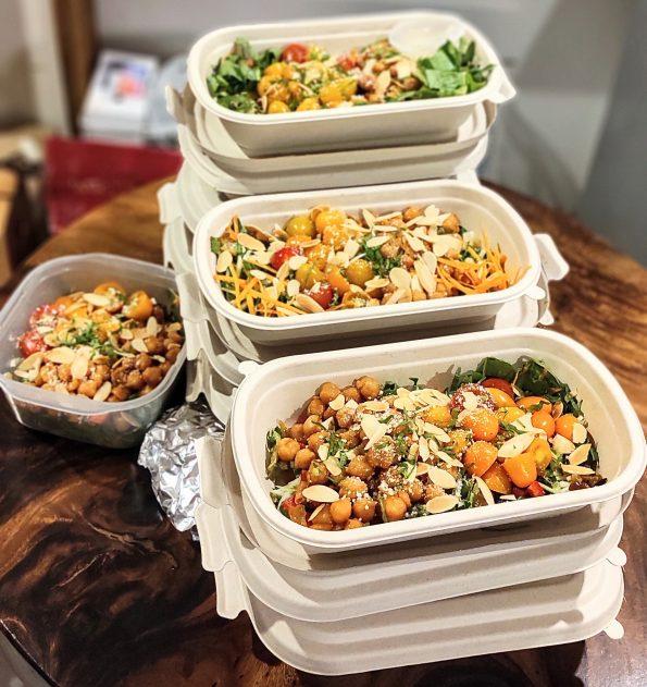 5 raw vegan salads 365 mon ngon moi ngay ăn chay - Meal plan