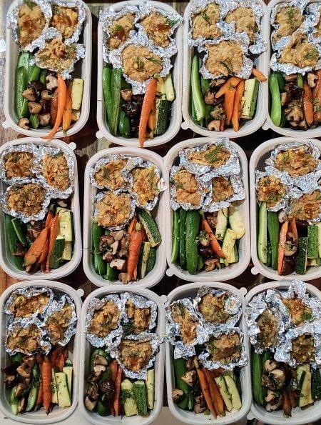 Bữa ăn healthy theo tuần Meal plan Ho Chi Minh