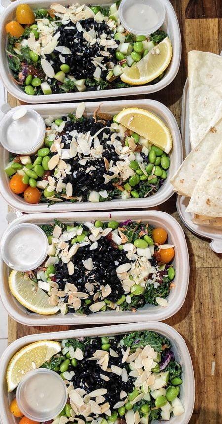 5 raw vegan salad