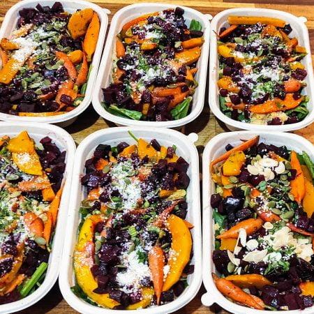 Snas 5 pumpkin salad