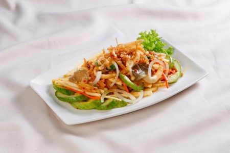 đồ ăn chay healthy santorino