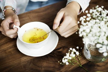 nhụy hoa nghệ tây - santorino