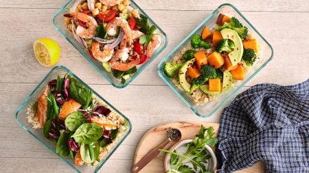 Premium vegetarian meal plan in Saigon santorino