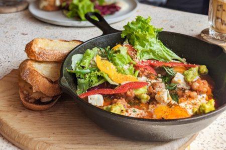best salad in Ho Chi Minh santorino