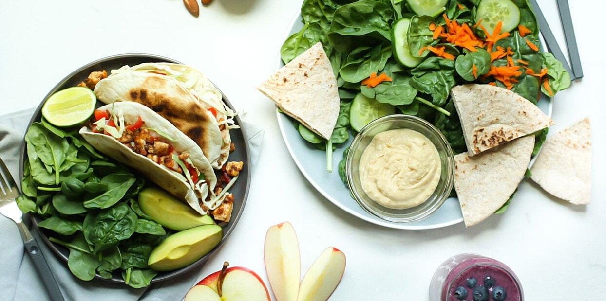 plant based meal plan in HCM santorino