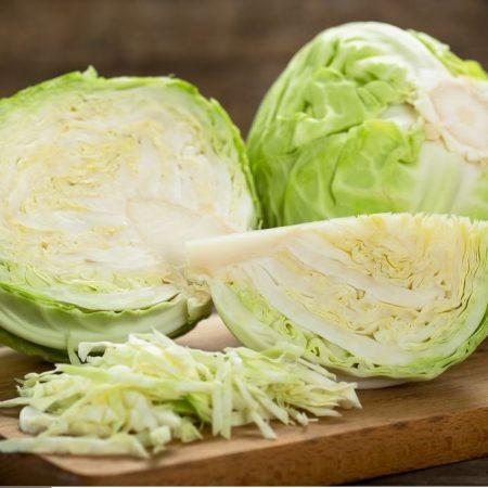 Bap cai trang Dalat half - Dalat Cabbage