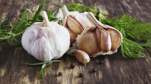 GARLIC TOI santorino veggies