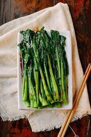 choy sum with garlic